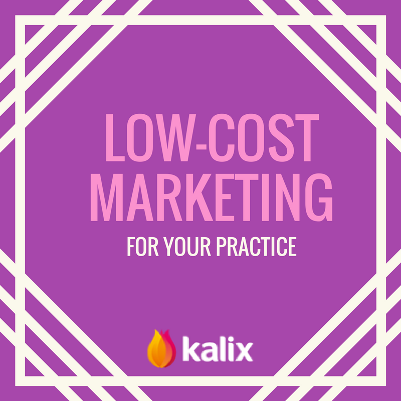 Low Cost Marketing for Your Practice